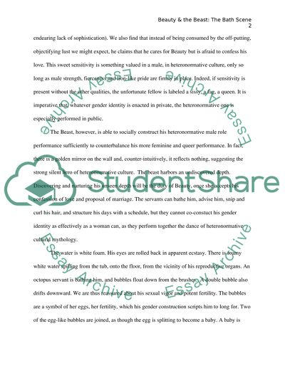 Apa Format Essay Example Paper Beauty And The Beast Christmas Essay In English also College Essay Thesis Beauty And The Beast Essay Example  Topics And Well Written Essays  Example Proposal Essay