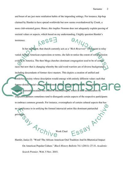 Conflict authority essay