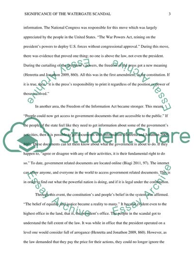 Creative writingwatergate scandal essay