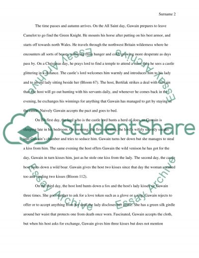 sir gawain and the green knight essay questions Sir gawain and green knight essays the extent to which the presentation is made concerning green knight and sir gawain is everyman questions everyone.
