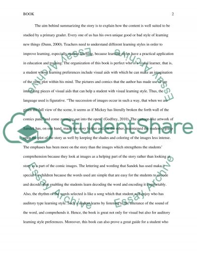 A Book for Primary Grade Students essay example