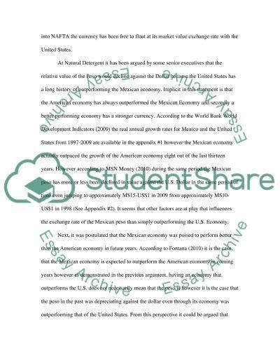 Economy-Business essay example