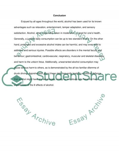 Substance misuse essay example