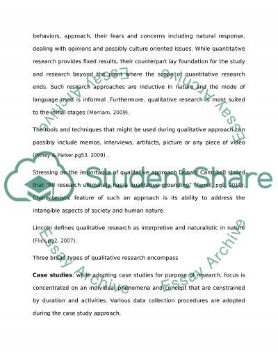 Quantitative and Qualitative Research Methods