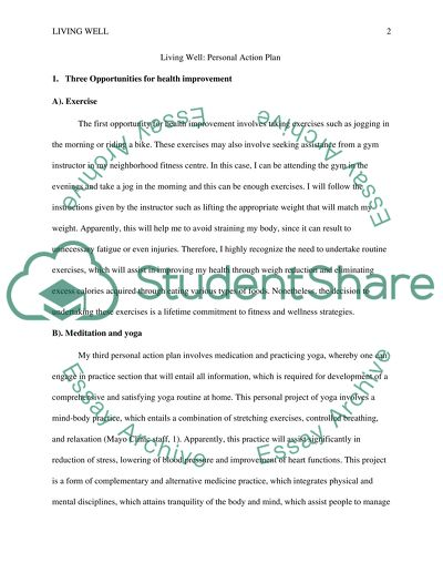 Living Well Essay Example Topics And Well Written Essays 750 Words
