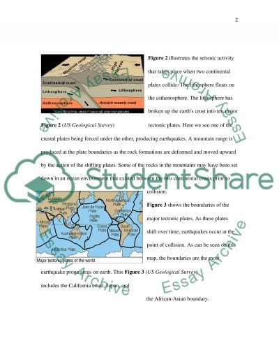 Why Do Earthquakes Occur Near Tectonic Plate Boundaries Essay example