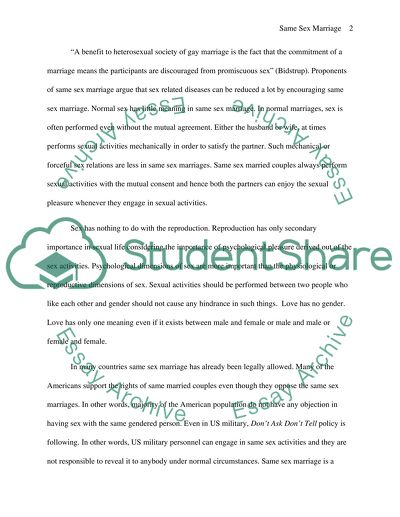 High School Dropout Essay Should Samesex Marriage Be Legalized The Importance Of English Essay also Reflection Paper Essay Should Samesex Marriage Be Legalized Essay Example  Topics And  About English Language Essay