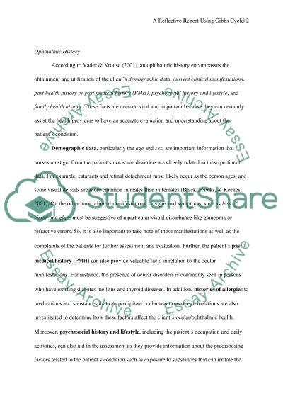 Nursing intervention Personal Statement