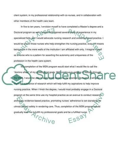 Custom admission essay nursing