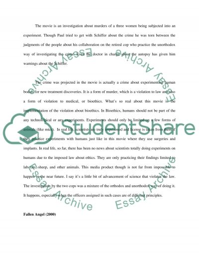 Crime High School Essay essay example