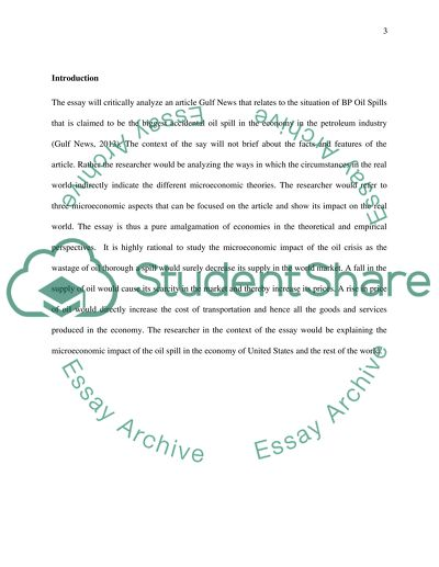 BP Oil Spills Essay Example | Topics and Well Written Essays - 1000 ...