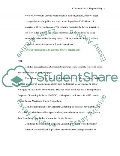 essay questions on csr essay