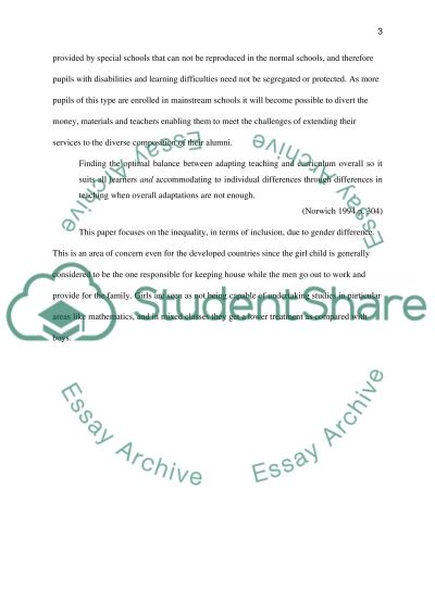 understanding inclusive learning and teaching essay Inclusive teaching learning , develop skills for creating inclusive learning  environment at school, to understand the concept of universal design for learning  and its  a reflective essay of aspirations and expectations of an inclusive  teacher.