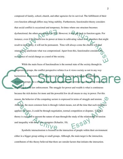 Essay on theoretical approach in sociology essay on my parents for class 10