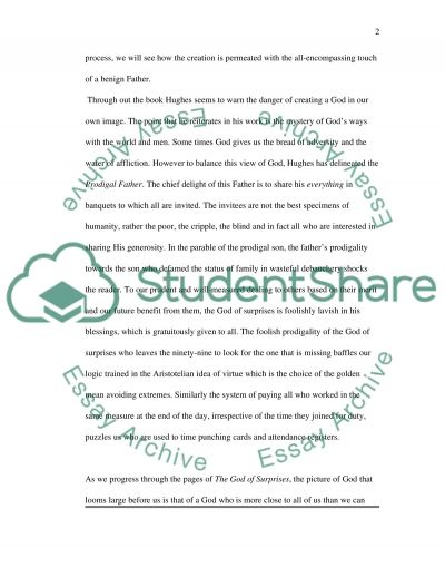 essay example on the god of Essay on do you believe in god and why do you believe in god and why with over 20 major religions in today's world, god is the most recognized superior power.