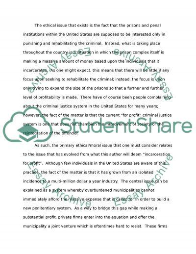 Ethics Paper essay example