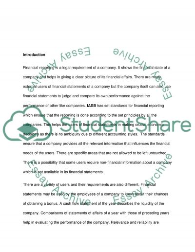 The Qualitative Characteristics of Relevance and Reliability essay example