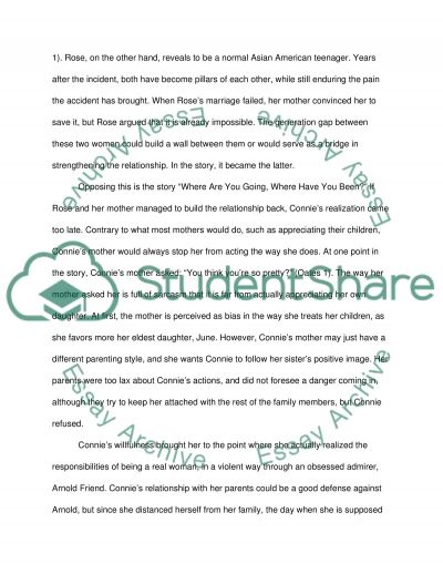 parent and child relationship in four modern short stories in  parent and child relationship in four modern short stories in english essay example