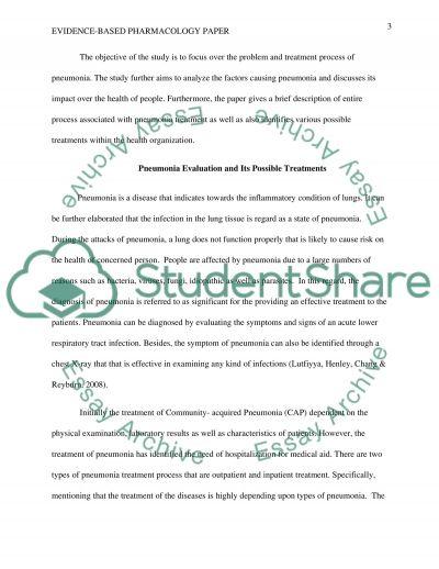 Evidence-Based Pharmacology Paper
