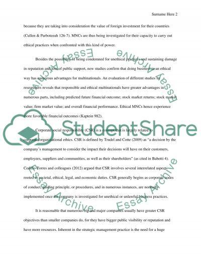 International Management essay example