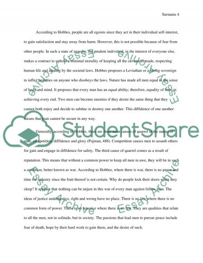 political philosophy essay example topics and well written text
