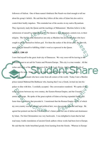 1200 Middle Ages essay example