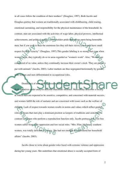 Gender Role essay example