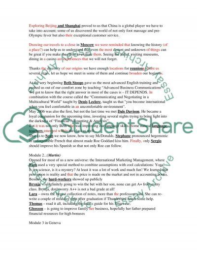 Graduation Speech essay example