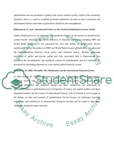 Classical vs Modern Globalization essay example