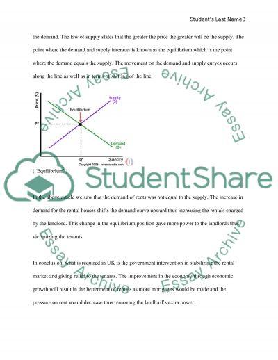 Microeconomics article analyses essay essay example