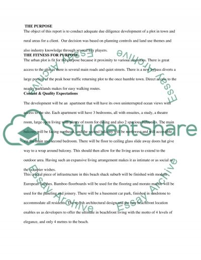 Architecture and Construction Essay example