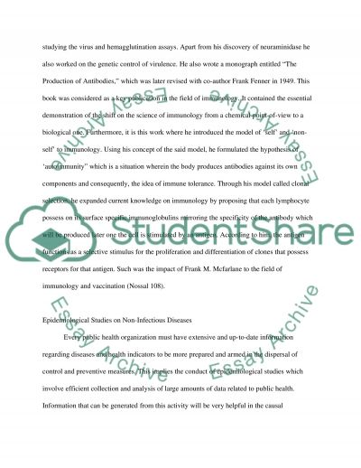 The Search for Better Health essay example