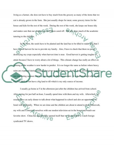 Project part 4 essay example
