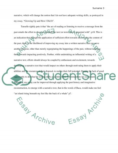literacy narrative in context essay example topics and well text