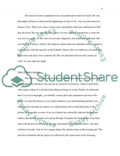 Art history - Annotated Bibliography & Outline essay example