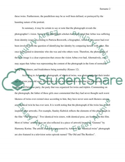 twin essay Open document below is an essay on twin from anti essays, your source for research papers, essays, and term paper examples.