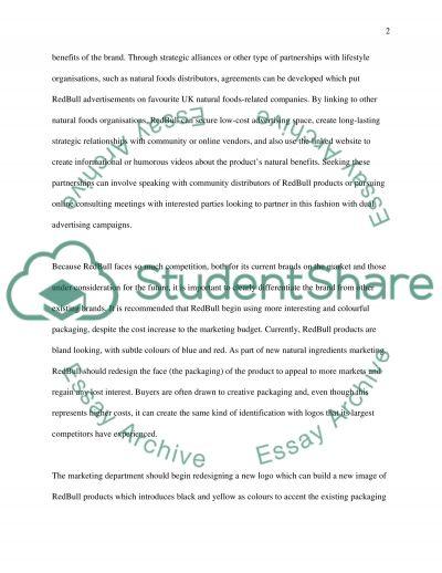 Marketing 3 essay example