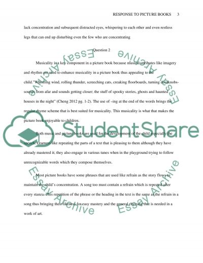 Question and Answer essay example