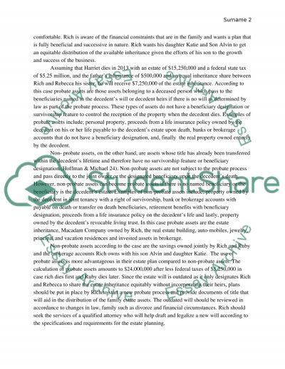 Rich and Ruby Case Study essay example