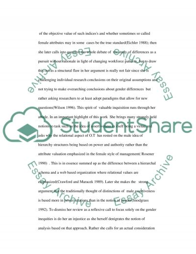 Organizational Theory essay example