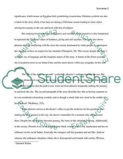 Short Story Literary Analysis Essay
