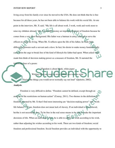 Example interview report essay papers you can buy