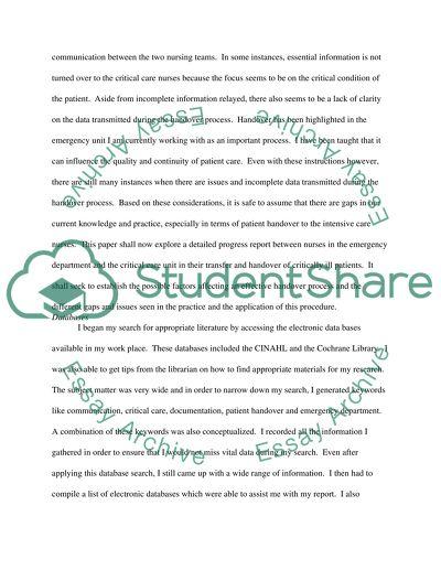Nursing degree essay