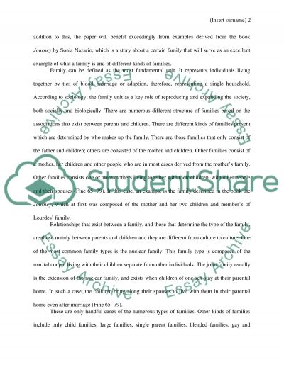 definition of the word family essay example topics and well  definition of the word family essay example