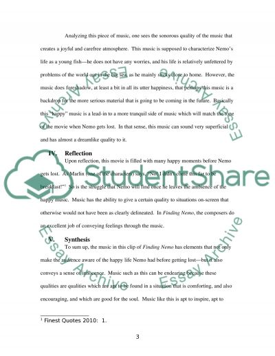 Music 004 written assignment essay example