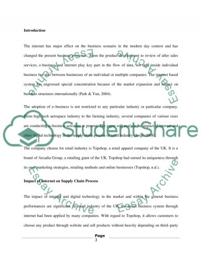 E-Business Resit Coursework Essay example