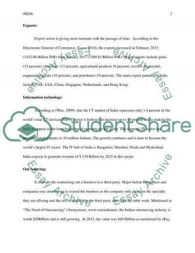 Sociology of India essay example