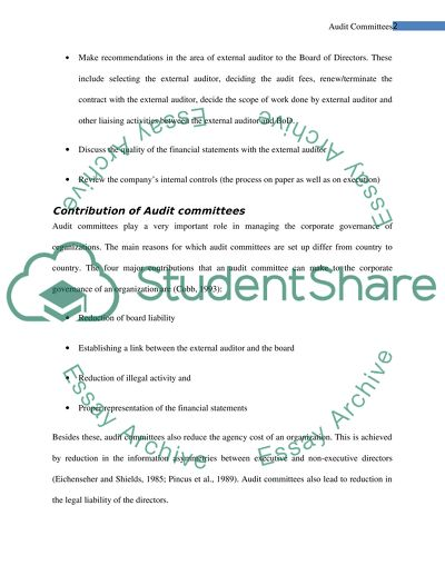 Auditing Committee