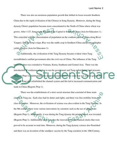 Final examination assignment