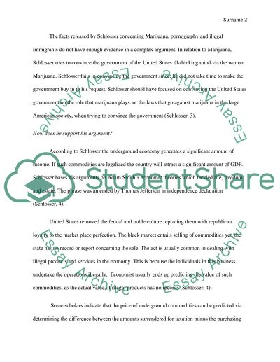 Essay Of Health Schlossers Argument In Chapter  Of Reefer Madness Is Effective How To Write A Proposal For An Essay also The Thesis Statement Of An Essay Must Be Schlossers Argument In Chapter  Of Reefer Madness Is Effective Essay Essay Paper Checker